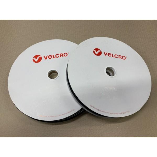 Velcro Black Hook 25mm