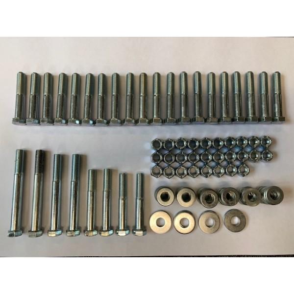 Wishbone Replacement Fastener Kit Front & Rear
