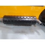 """6.5"""" Silencer Exhaust Cover Polished / Powder Coated"""