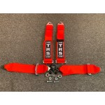 "Harness 4 Point with 3"" Straps - FIA Approved"