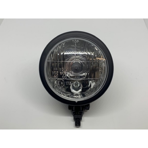 "Black Headlamp - 4"""