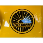 Westfield 100mm Sunburst logo transfer
