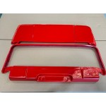 Fibreglass lockable boot lid including all fittings