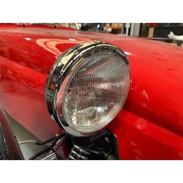 "Chrome Headlamp - 5 3/4"" LHD (Pair)"