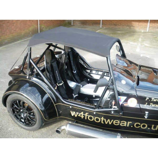 Half Hood - Westfield FIA Approved Full Roll Cage