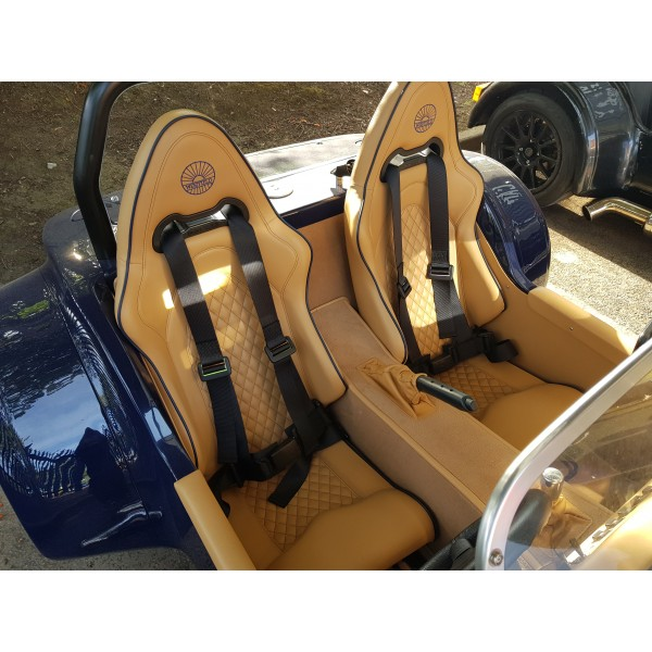 Sport Turbo Seats Diamond Stitched Pair