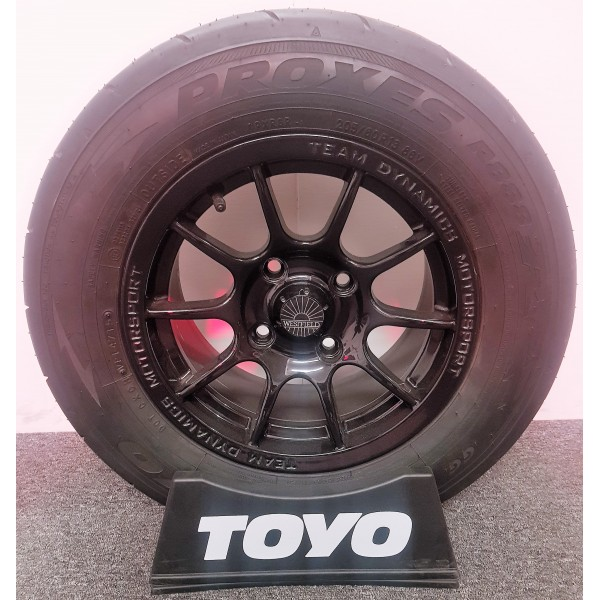 "Wheel and Tyre Package 7 x 13""Pro Race 1.2 - Toyo R888R 205/60/13"
