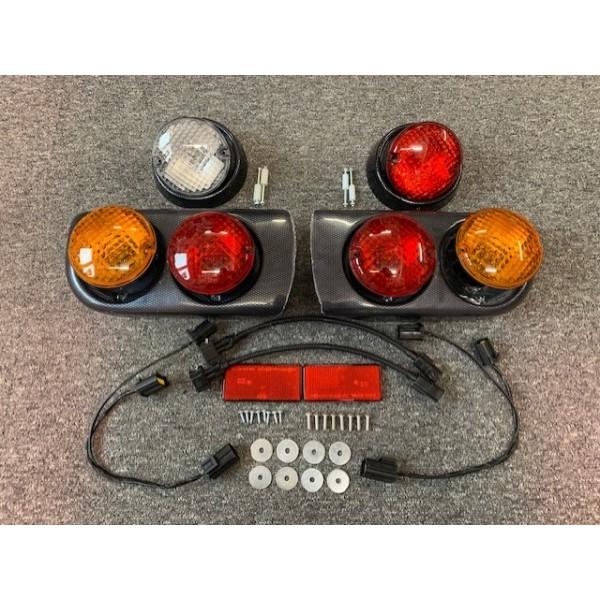 Carbon Effect Rear Lamp Kit (ZK)
