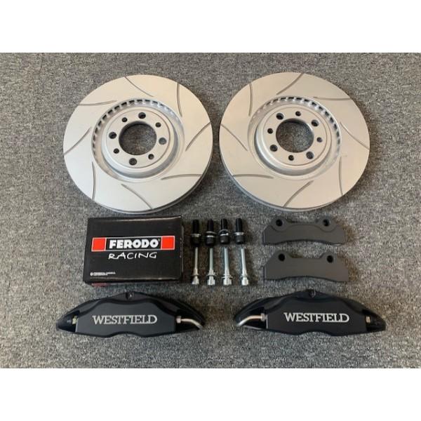 WSC 4 Pot Brake Caliper and Disc Upgrade Kit
