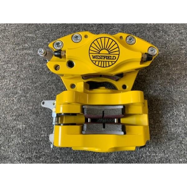 Westfield Rear Brake Calipers HS Golf Yellow (Pair)