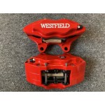 Westfield Front Brake Calipers HS Red - Pair