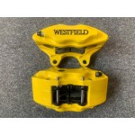 Westfield Front Brake Calipers HS Yellow - Pair