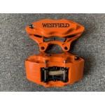 Westfield Front Brake Calipers HS Orange - Pair