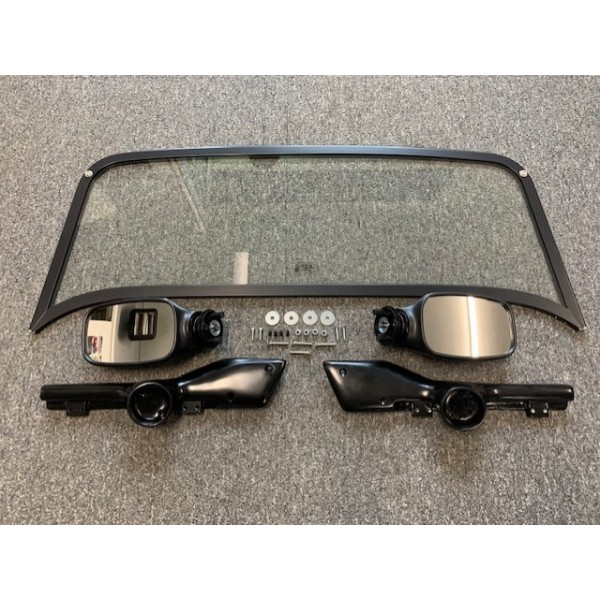 Windscreen Kit Black