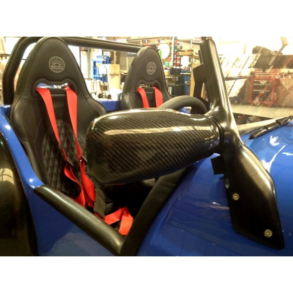 Genuine Carbon Mirror Covers