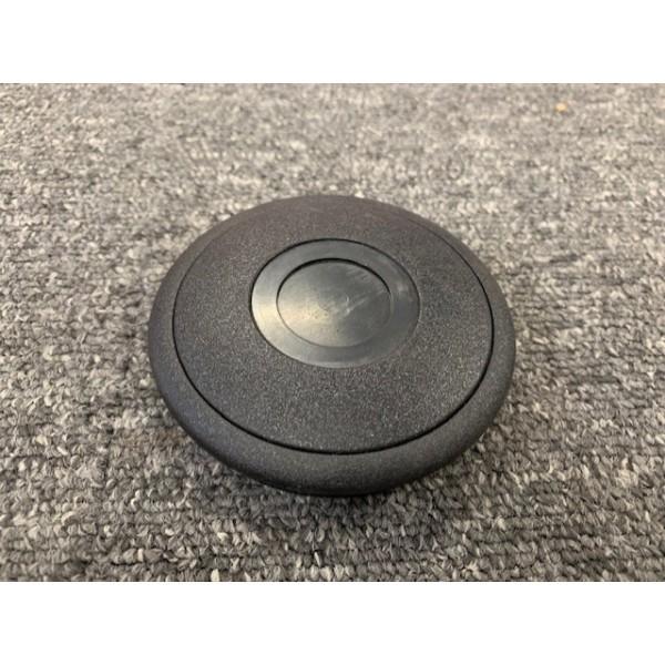 Chesil Steering Wheel Horn Button - Black - Riveted Wheel