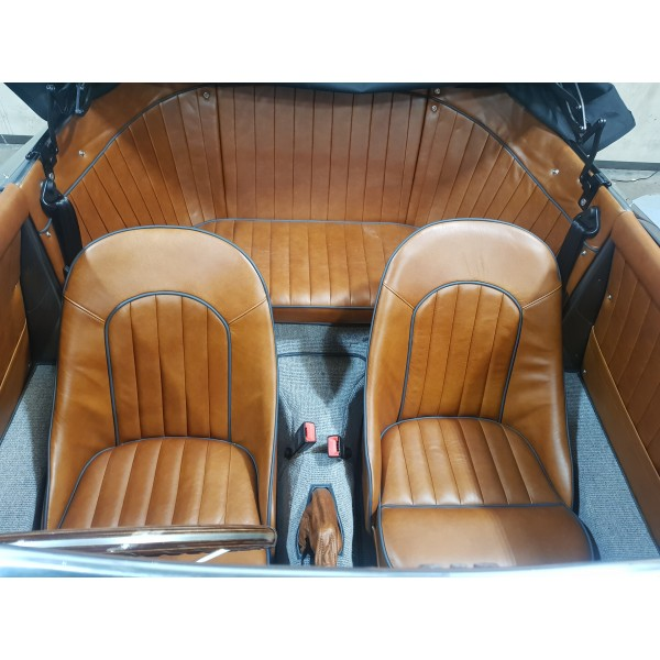 Chesil Pair of Standard Bucket Leather Seats
