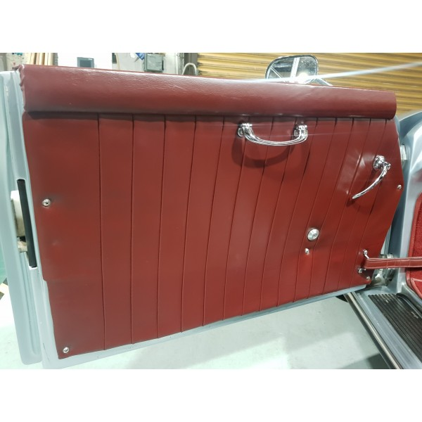 Chesil Interior Leather Door Cards