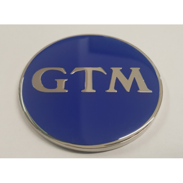 GTM Enamel Bonnet Badge