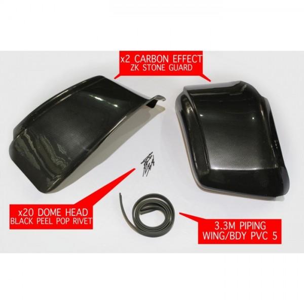 Carbon Effect Stone Guard Kit ZK Bodywork