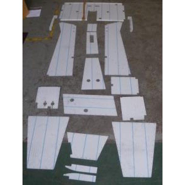 Aluminium Panel Set - MT75
