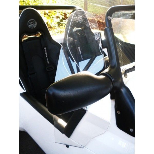 Windscreen Wind Deflector Kit